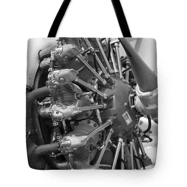 Prat And Whitney Tote Bag