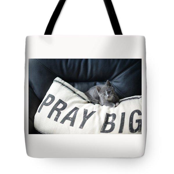 Pray Big Tote Bag