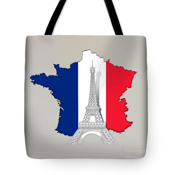 Pray For Paris Tote Bag
