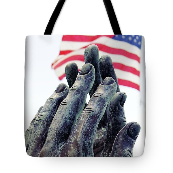 Pray For The Usa Tote Bag