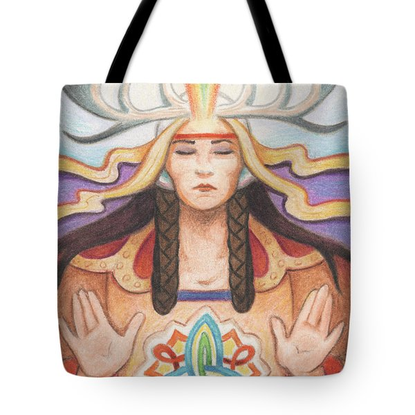 Pray For Unity Dream Of Peace Tote Bag by Amy S Turner