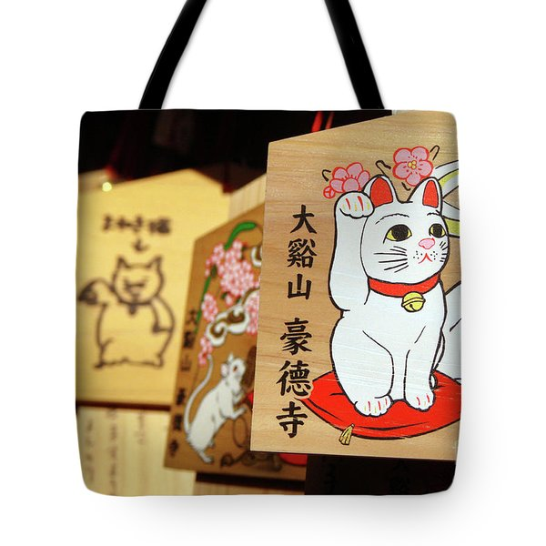 Prayer For Luck Tote Bag
