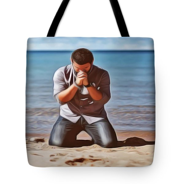 Prayer Tote Bag