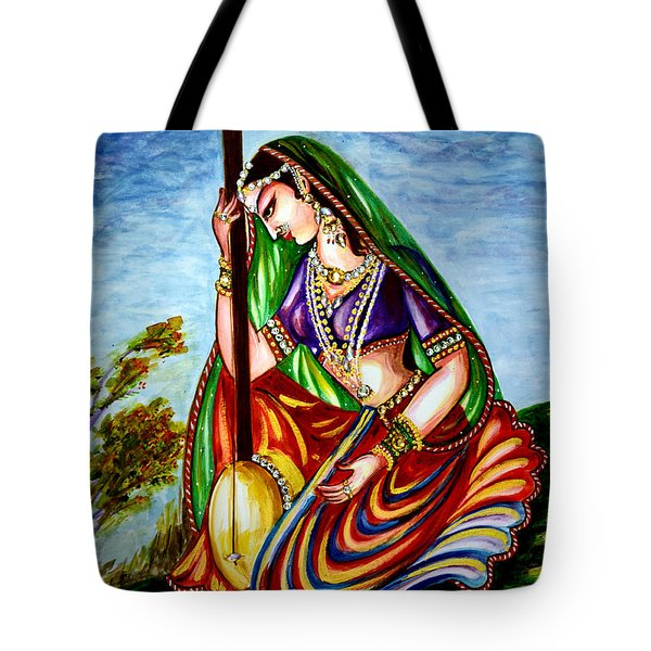 Krishna - Prayer Tote Bag