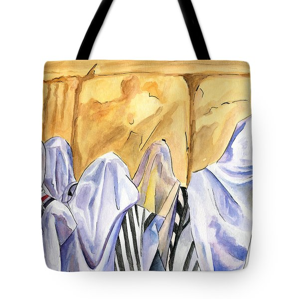 Prayer IIi Tote Bag