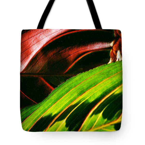 Prayer Plant Passing Tote Bag