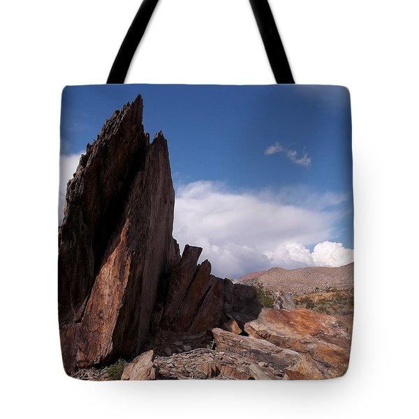 Prayer Rocks - Route 66 Tote Bag