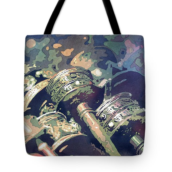 Prayer Wheels- Nepal Tote Bag