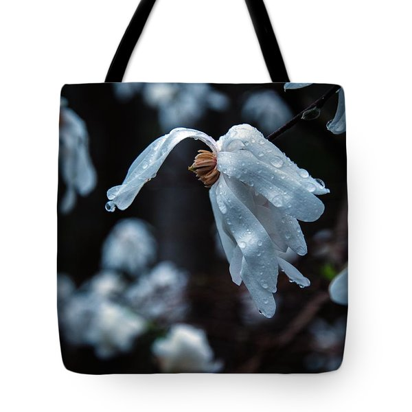 Prayers Of Flowers Tote Bag by Lori Miller
