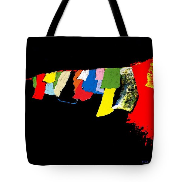 Prayers - Unanswered-interrupted Tote Bag