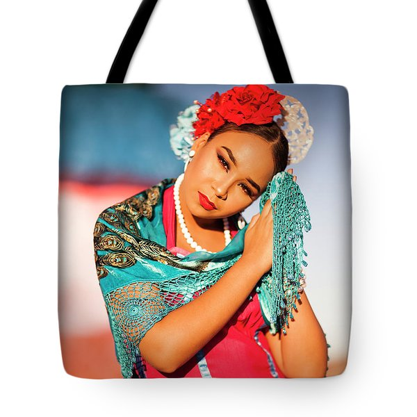 Praying Cathy Tote Bag