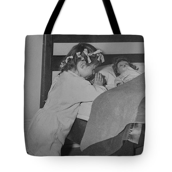 Praying Child Tote Bag