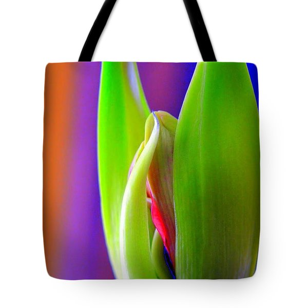 Praying Leaves Tote Bag