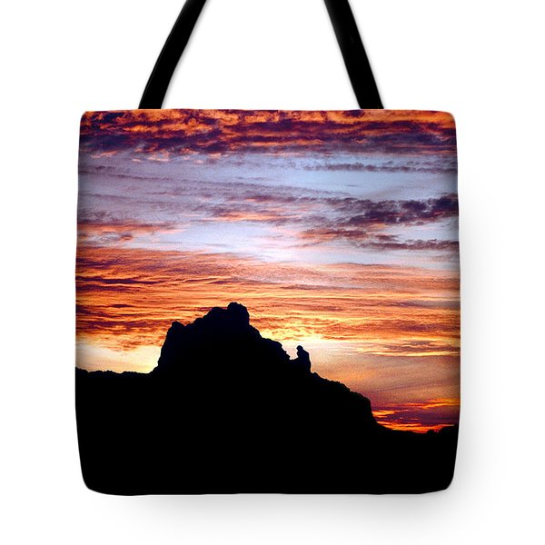 Praying Monk, Camelback Mountain, Phoenix Arizona Tote Bag