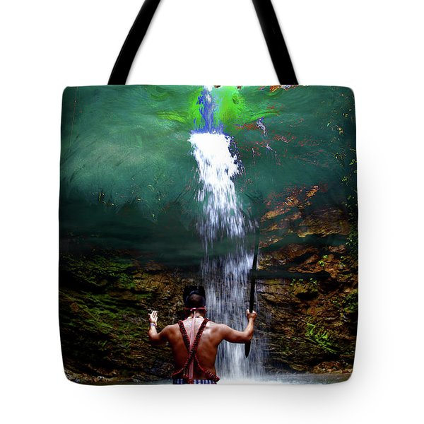 Tote Bag featuring the photograph Praying To The Spirits by Al Bourassa