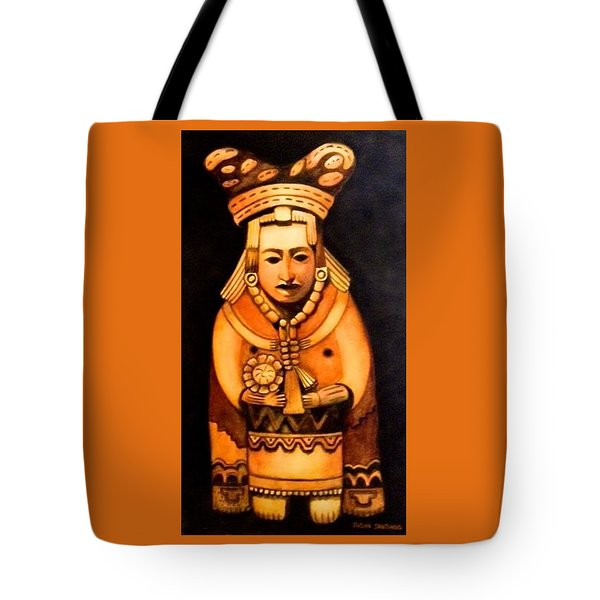 Pre Columbian God Tote Bag