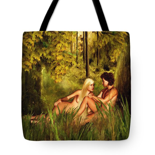 Pre-consciousness Tote Bag by Lourry Legarde