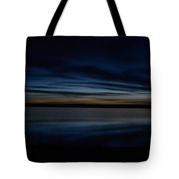 Pre-dawn's Glow Tote Bag