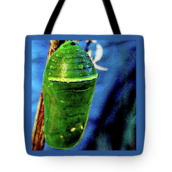 Pre-emergent Butterfly Spirit Tote Bag by Gina O'Brien