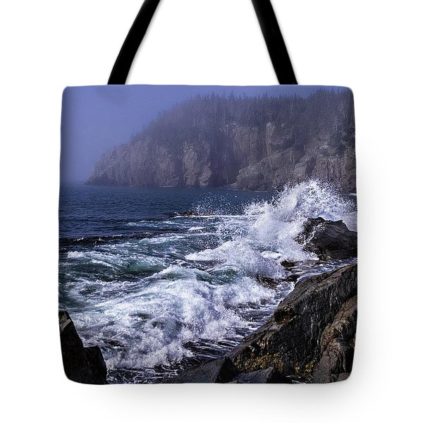 Pre Irene Surge Tote Bag by Marty Saccone