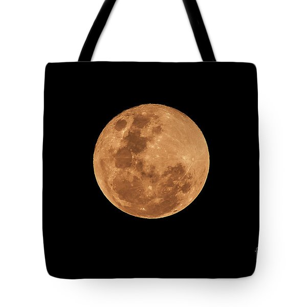 Post-penumbral Moon Tote Bag by Venura Herath