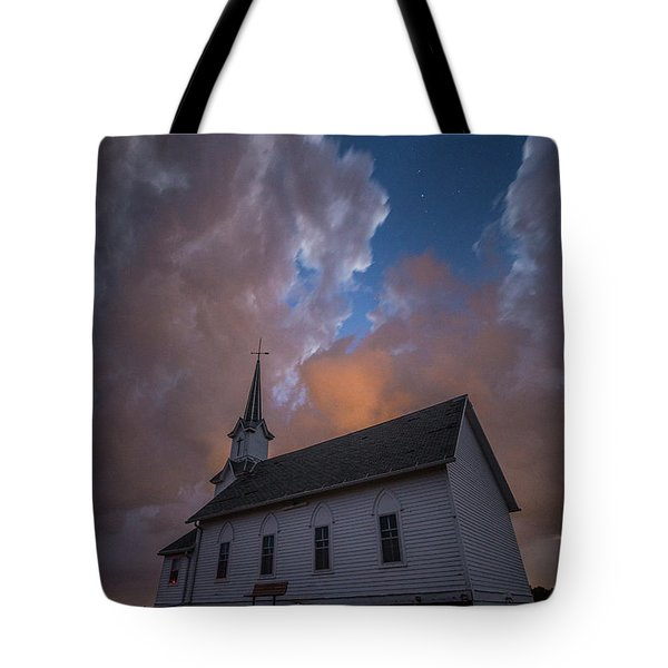 Tote Bag featuring the photograph Preacher by Aaron J Groen