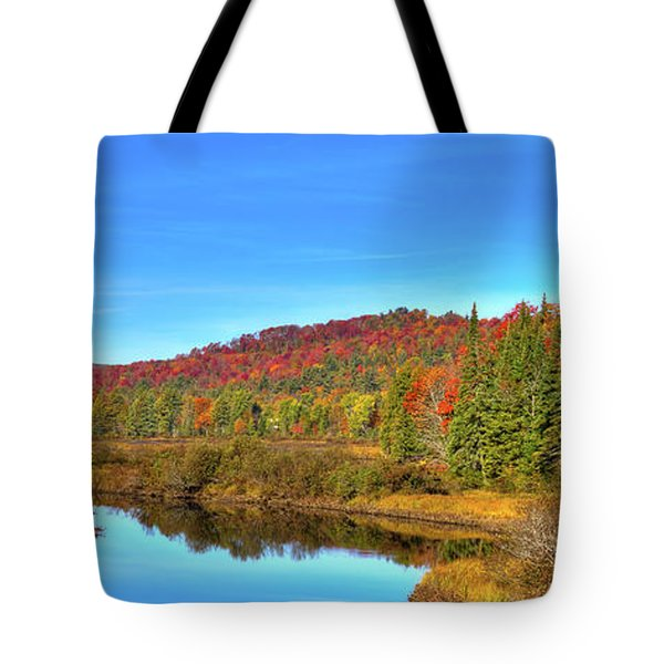 Tote Bag featuring the photograph Precious Memories At The Green Bridge by David Patterson
