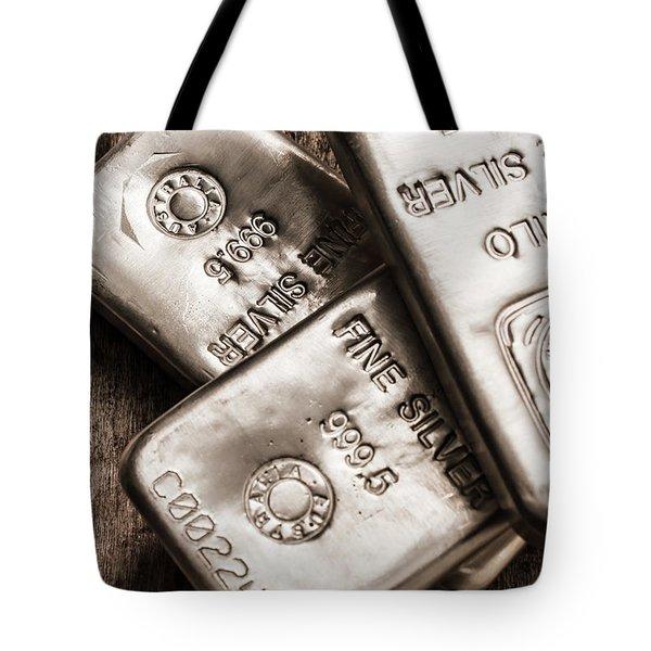 Precious Metal Art Tote Bag