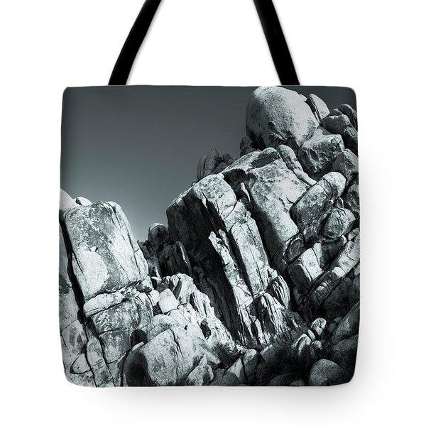 Precious Moment - Juxtaposed Rocks Joshua Tree National Park Tote Bag