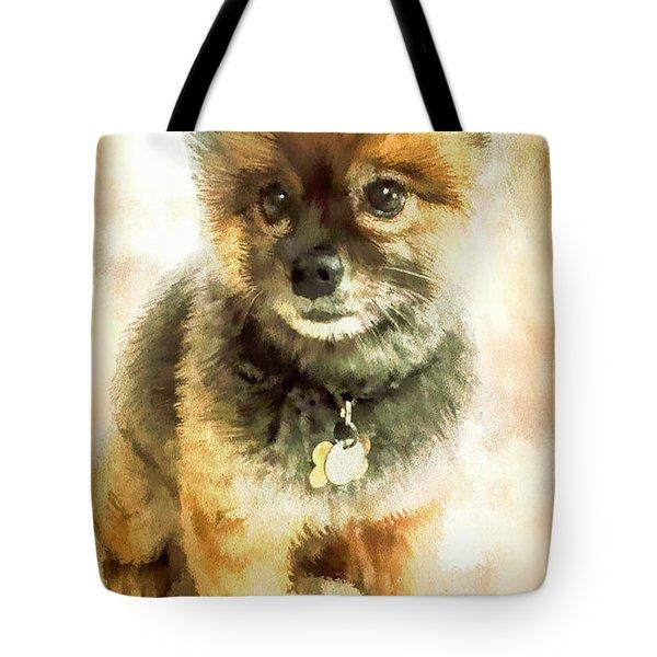 Precious Pomeranian Tote Bag