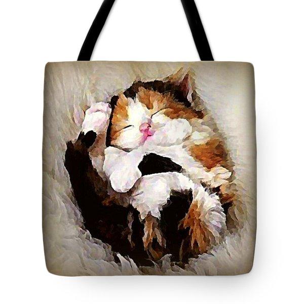 Precious Purrbaby Tote Bag