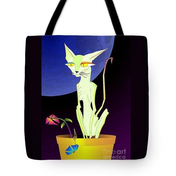 Precious The Cat Tote Bag