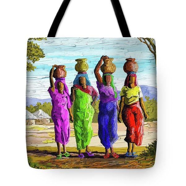 Precious Water Tote Bag