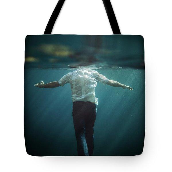 Precipice Tote Bag