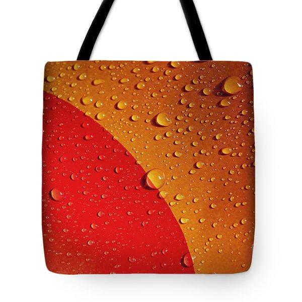 Precipitation Tote Bag