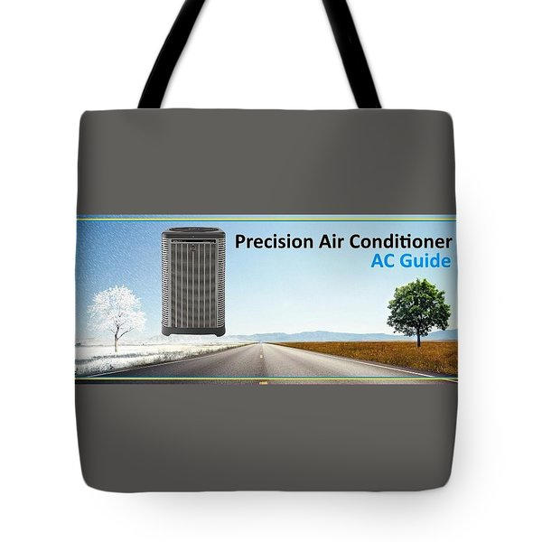 Precision Air Conditioning System Tote Bag