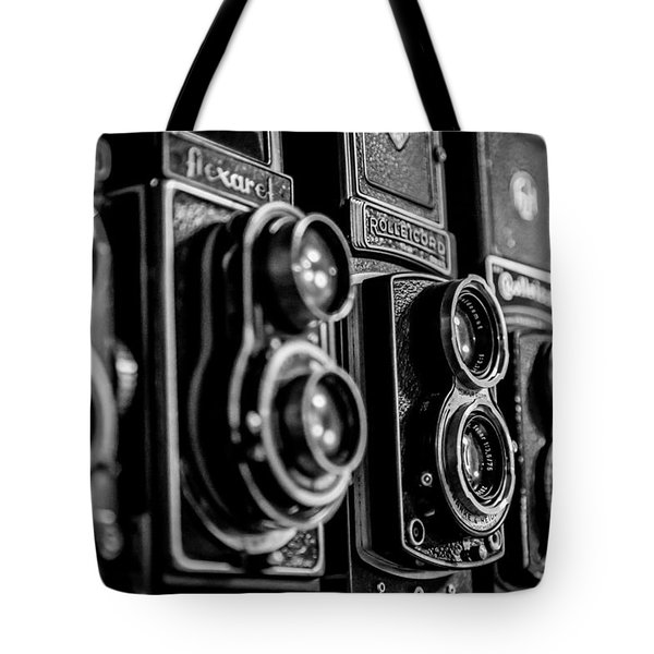 Tote Bag featuring the photograph Precision Equipment by Keith Hawley