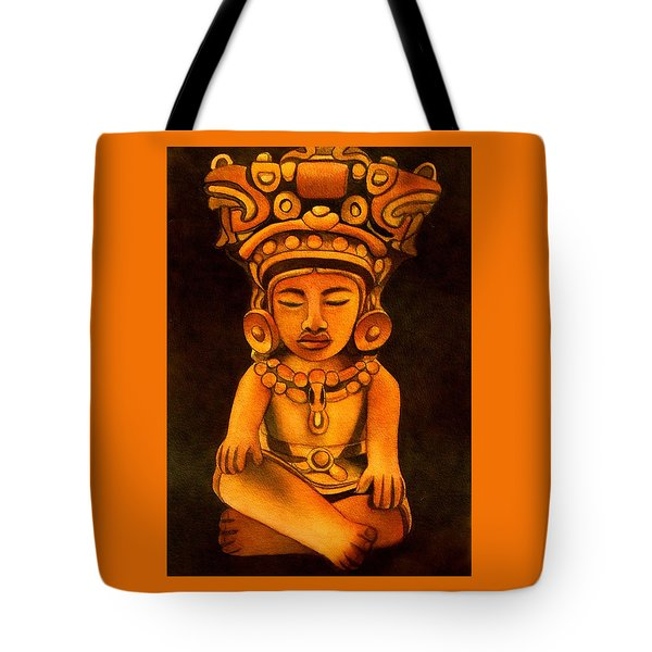 Precolumbian Series #2 Tote Bag
