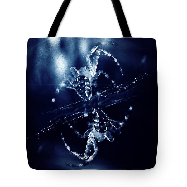 Tote Bag featuring the digital art Predators  by Fine Art By Andrew David