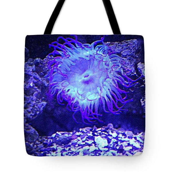 Predatory Terrestrial Sea Anemone Tote Bag