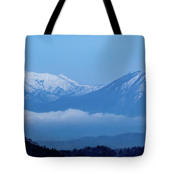 Tote Bag featuring the photograph Predawn Peaks by Rikk Flohr