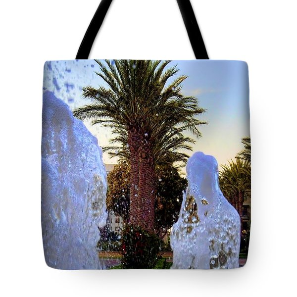 Tote Bag featuring the photograph Pregnant Water Fairy by Mariola Bitner