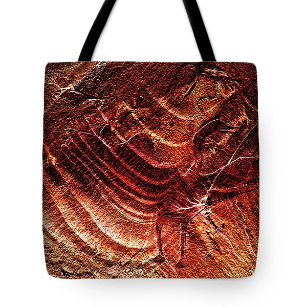 Prehistoric Bird Tote Bag