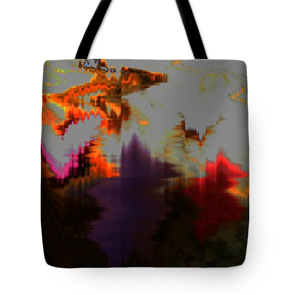 Prehistoric Tote Bag by Lenore Senior