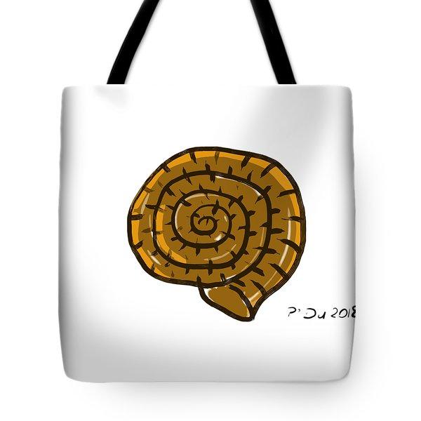 Prehistoric Shell Tote Bag
