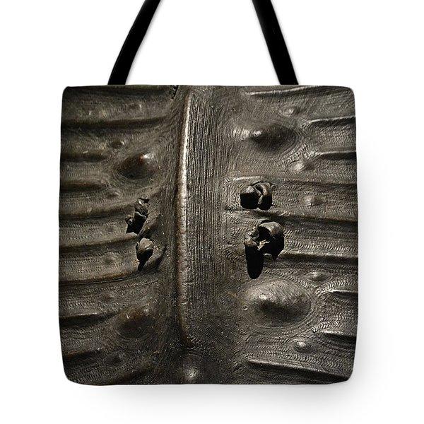 Prehistoric Turtle Shell Tote Bag