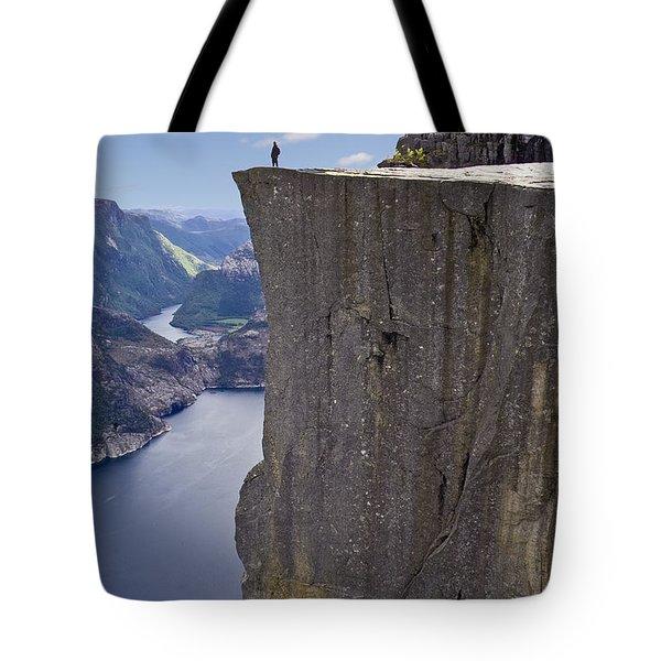 Preikestolen Tote Bag
