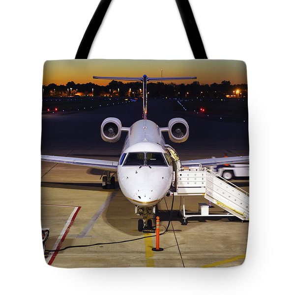 Preparing For Departure Tote Bag by Jason Politte