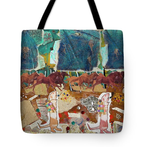 Preparing For Winter Tote Bag