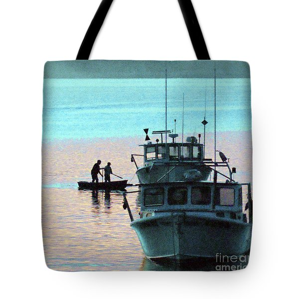 Preparing To Board Tote Bag